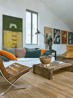 Designer: Michel Peraches/Eric Miele  Fotógrafo: Nicolas Matheus/Frederic Basset Images  Fonte: Elle Decor - march 2011 - n223