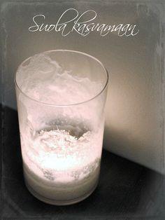Yours, S: SUOLA KASVAMAAN @YoursSblogi #diy #lyhdyt_ja_kynttilät