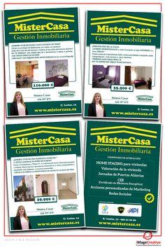 Flyers para MisterCasa.