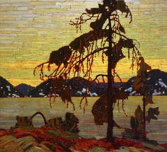 Tom Thomson, The Jack Pine, 1917. This art is from the group of seven. The group of seven focused on landscape work. The painting can relate to the modern of work because the painting is a landscape of a dying tree in front of lake during a sunset.