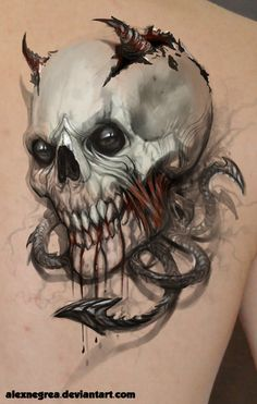 Tattoo concept by *alexnegrea on deviantART