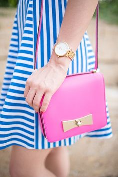 Outfit Post: Royal Blue Stripes