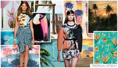 Spring Summer 2015 – Women's Top 5 Fashion Themes from Fashion Snoops Ss15 Trends, 2015 Fashion Trends, Fashion Themes, Kitsch, Fashion Forecasting, Spring Summer Trends, Spring 2015, Glamour, Stunning Women