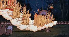 Pom Poko (1994) Studio Ghibli, Pom Poko, Castle In The Sky, Hayao Miyazaki, Cinematography, Good Movies, Nerdy, Animation, Japanese