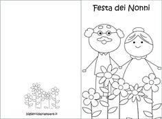 כרטיס-סבא וסבתא שלישי ל-צבע All Kids, Grandparents Day, School Bags, Preschool, Shabby, Snoopy, Classroom, Easter, Cards