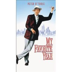 My Favorite Year - This movie is a great parody of all old Errol Flynn movies and the early days of TV. Really Good Movies, Great Movies, Excellent Movies, Hollywood Actor, Hollywood Stars, Best Actor Oscar, My Favorite Year, Peter O'toole, Movies