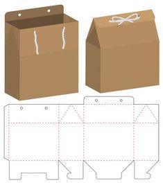 Box packaging die cut template design Cool Paper Crafts, Cardboard Crafts, Diy Paper, Diy Gift Box Template, Paper Box Template, Box Template Printable, Box Packaging Templates, Diy Box, Paper Toys