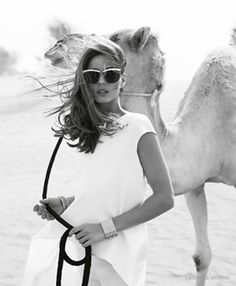 Olivia Palermo by Andoni + Arantxa for Emirates Woman March 2015