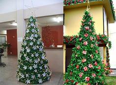 ... , Para Merecer Quem Vem Depois!: Árvores De Natal De Garrafa PET | Weight Loss Info Online