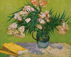 Natureza morta com Oleandro. Vincent Willem van Gogh (Zundert, Países Baixos, 30/03/1853 - 29/07/1890, Auvers-sur-Oise, França).