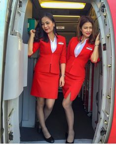 Hot Flight Attendants