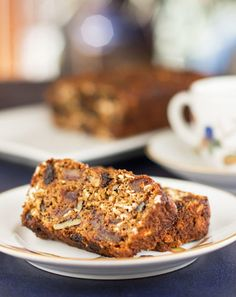 Cherry Date Nut Bread is a fat free quick bread, packed with healthy ingredients and a great complement to tea or coffee. #quickbread #fatfree #bread #cherries @mjskitchen