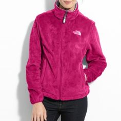 The North Face Osito Jacket 100 % authentic North Face jacket like new warm and cozy. 'tis the season to layer up! Like New condition! Great quality. The North Face Jackets & Coats