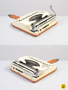 The princess of all typewriters: the ultra-portable Princess 200, made in West Germany in the 1950s!
