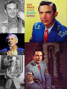 """Ray Price (Jan. 12, 1926 – Dec. 16, 2013) was an American country music singer, songwriter & guitarist. His wide-ranging baritone has often been praised as among the best male voices of country music. His well-known recordings include """"Release Me"""", """"Crazy Arms"""", """"Heartaches by the Number"""", """"For the Good Times"""", """"Night Life"""", and """"You're the Best Thing That Ever Happened to Me"""". He was elected to the Country Music Hall of Fame in 1996 and, even into his late 80s, continued to record & tour."""