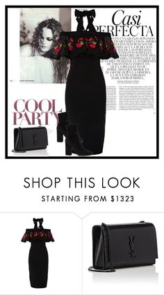 """""""Heartbeat (1947)"""" by girlwithpearl16 ❤ liked on Polyvore featuring Temperley London, Yves Saint Laurent, Valentino and Whiteley"""