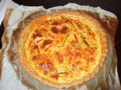 Quiche Andalouse (poivrons et chorizo) : Recette de Quiche Andalouse (poivrons et chorizo) - Marmiton