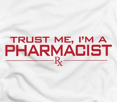 Your place to buy and sell all things handmade Pharmacy Humor, My Motto, Medical Field, Name Tags, Trust Me, Drugs, Medicine, Mottos, Calm