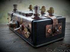 steampunk overdrive booster