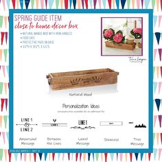 Close to Home Décor Box Thirty One New, Thirty One Party, Thirty One Business, Thirty One Gifts, Home Decor Boxes, Thirty One Consultant, Recipe For Success, 31 Bags, Summer Fun