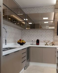 Finding the Best Fabulous Modern Kitchen Sets on Simplicity , Efficiency and Elegance - houseinspira Kitchen Room Design, Kitchen Cabinet Design, Kitchen Sets, Modern Kitchen Design, Home Decor Kitchen, Interior Design Kitchen, Kitchen Furniture, Home Kitchens, Kitchen Nook