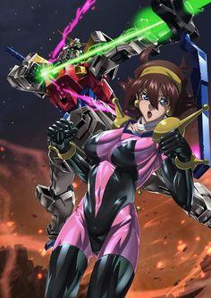 a collection of gundam artwork from around the web Mobile Fighter G Gundam, Gundam Mobile Suit, 90 Anime, Chica Anime Manga, Gundam Wing, Gundam Art, Character Inspiration, Character Art, Gundam Wallpapers