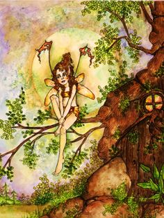 """by Memory Howell © """"Fairies of Memory"""" on Face book."""