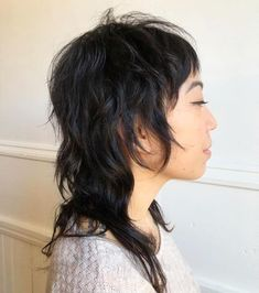 Haircuts Mullet Haircut, Modern Mullet, Hair Brained, Mullets, Makeup Stuff, Beauty Bar, Hairdresser, Patience, Hair Inspo