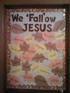 Church Bulletin Board