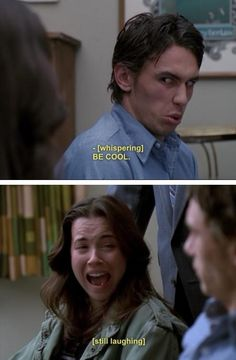 Freaks and geeks. love James Franco in this episode. so manipulative