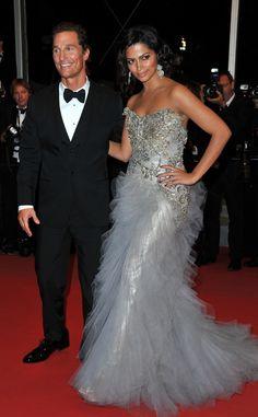 Camila Alves en Cannes 2012