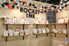 National Stationery Show 2012: Rocket Ink   Photo Credit: Oh So Beautiful Paper
