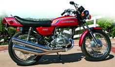 Bildresultat för kawasaki moto 350 vintage