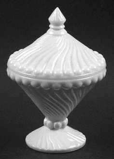 Westmoreland, Swirl and Ball-Milk Glass at Replacements, Ltd