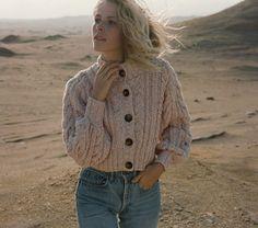 DÔEN Cardiff Sweater, Pink Cloud