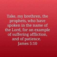 James 5:10 KJV