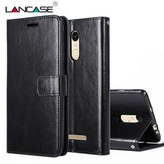LANCASE For Xiaomi Redmi Note 3 Pro Case Magnetic Stand Flip PU Leather Case For Xiaomi Redmi Note 3 Lanyard Wallet Phone Cases #Affiliate