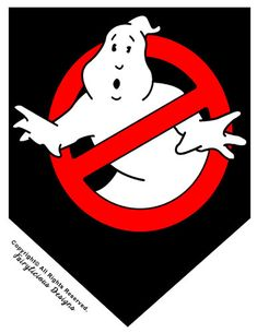 Ghostbusters Printable 19-pc Flag Party Banner & Wrapper Set
