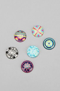 Bubble Home Button Sticker - Pack Of 6 #urbanoutfitters