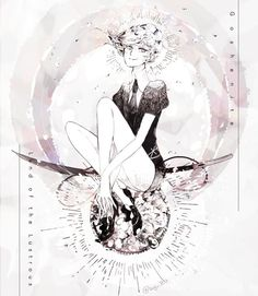 Houseki no Kuni 宝石の国 ♦ (Land of the Lustrous/ Country of Jewels) ♦ Manga Art, Manga Anime, Anime Art, Magical Girl, Cool Artwork, Art Drawings, Animation, Blood Art, Marvel