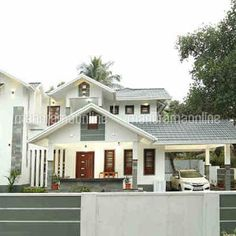 129 Best Kerala Home Designs Images In 2020 Kerala House Design