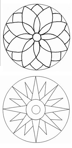 405 best stained glass mandala images in 2018 Mandala Design, Mandala Art, Mandala Painting, Dot Painting, Stained Glass Patterns, Mosaic Patterns, Stained Glass Designs, Embroidery Patterns, Doodle Patterns