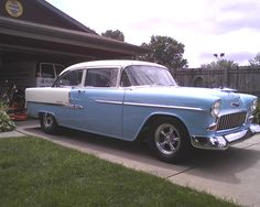 My 55 Chevy  on NOS