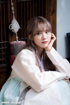 WJSN Luda 2018 Chuseok Greeting photoshoot by Naver x Dispatch.