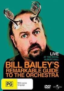 Bill Bailey's Remarkable Guide to the Orchestra - Live at the Royal Albert Hall   DVD   ABC Shop