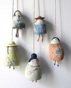 Yen Yen Lo|Ceramic Art|Melbourne | Bells