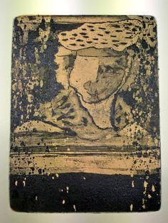 Luis Seiwald - Radierung Rembrandt 2012- Auflage: 30