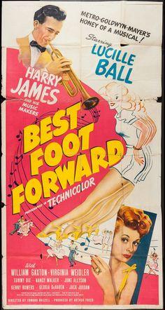 Best Foot Forward (MGM, 1943).