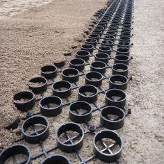 Ground Foundation Reinforcement Driveways