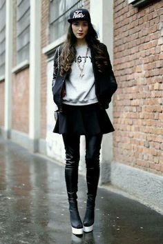 Glam/grunge